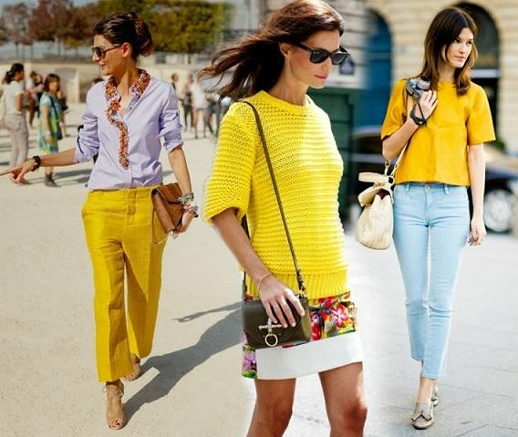 Tendências Amarelo Verão 2014: Como Usar, Fotos