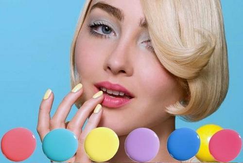 Unhas Candy Colors – Tendências 2013