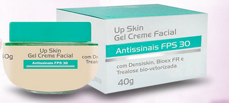UP Skin Creme Facial: preço, onde comprar