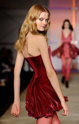 Vestido Aveludado 2012 – Fotos e Modelos
