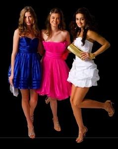 Vestidos Curtos para Formatura 2012