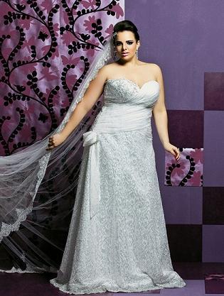 Vestido de Casamento para Gordinhas Moda 2014