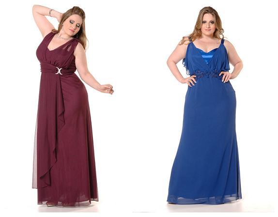 Vestidos de Madrinhas de Casamento para Gordinhas Moda 2014