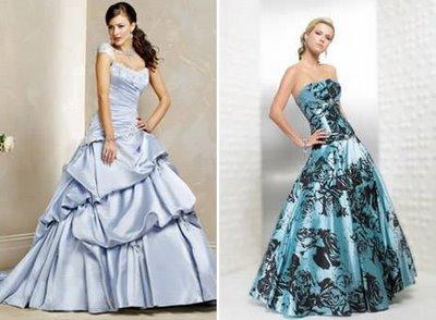Vestidos de Noivas Coloridos – Fotos