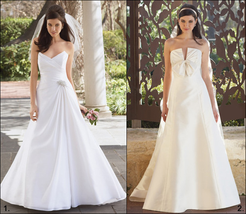 Vestidos de Noiva Longos 2012