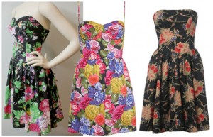 Vestidos Floridos Verão 2012 – Tendências e Modelos