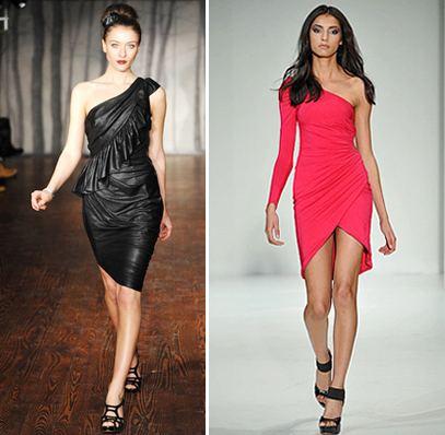 Vestidos Assimétricos Femininos, Moda 2013