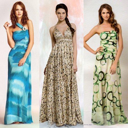 Vestidos Casuais Moda 2013