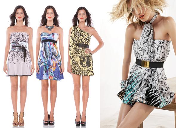 Vestidos com Cinto, Tendências 2012 – Fotos e Modelos