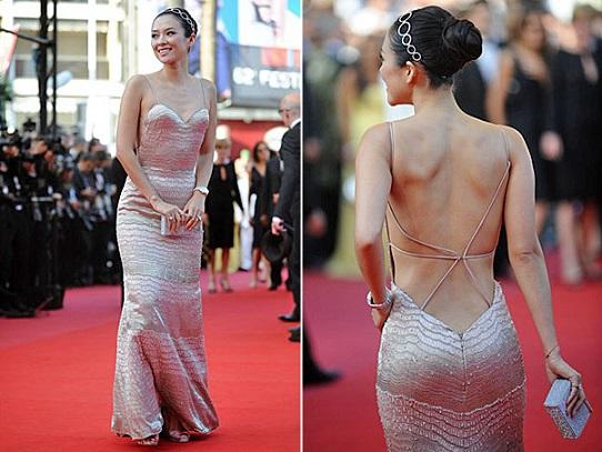 Vestidos com Decote nas Costas Moda 2013