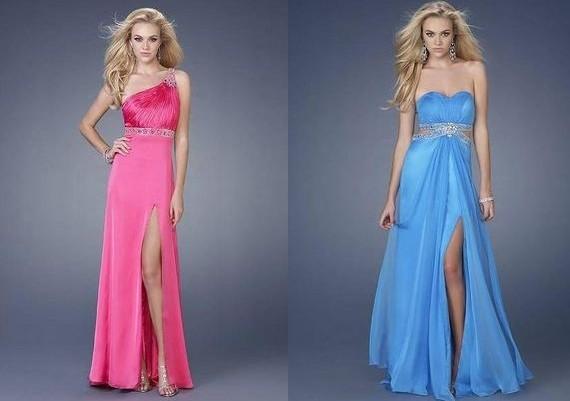 Vestidos com Fendas – Tendências 2012