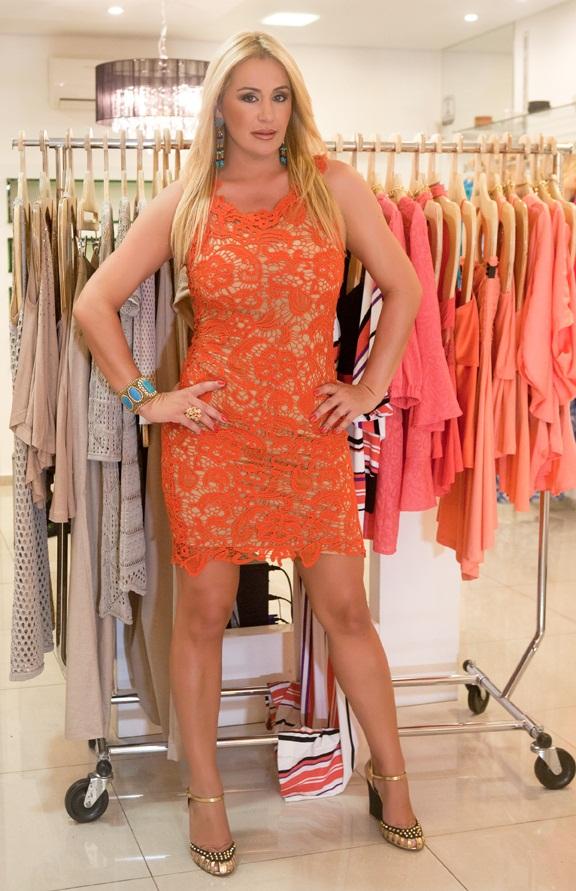 Imagens de vestidos de renda da moda