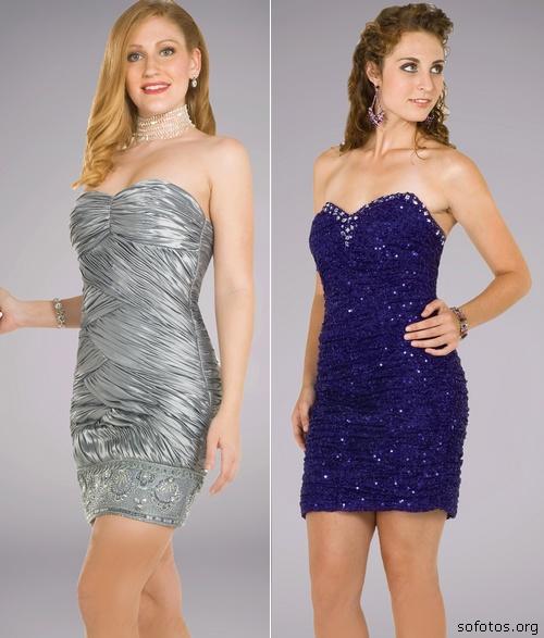 Vestidos Drapeados Curtos 2012 – Fotos e Modelos