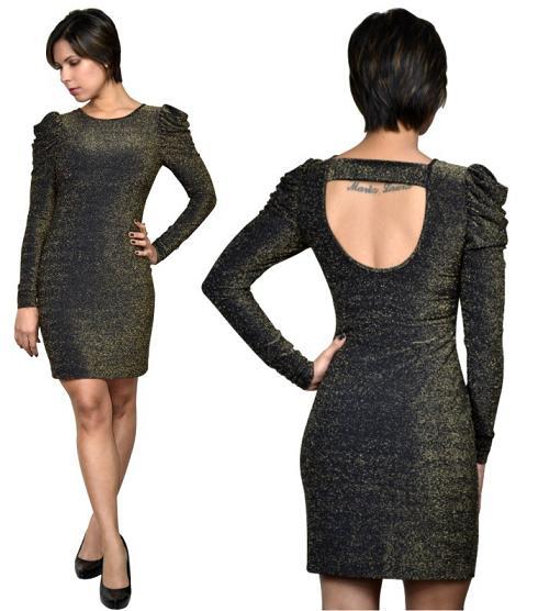 Vestidos Lurex – Tendências 2012