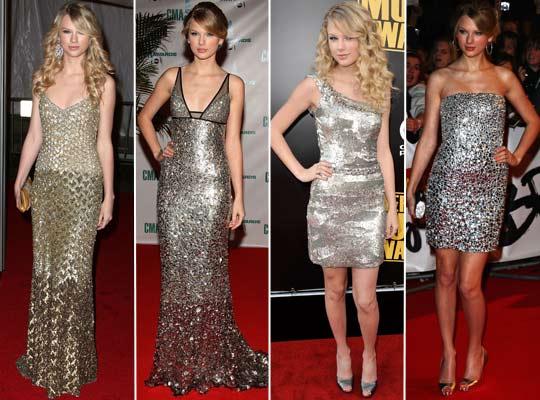 Vestidos Metalizados, Tendências e Fotos