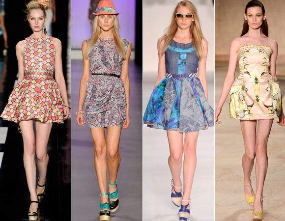 Moda Feminina Vestidos para 2013, Dicas e Fotos