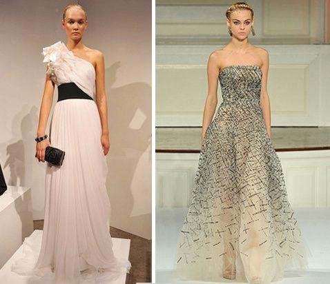 Vestidos para Convidadas de Casamento – Tendências 2012
