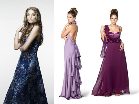 Vestidos para Festas de Casamentos 2012 – Modelos de Vestidos Curtos, Médios e Longos