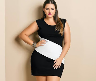 Vestidos Plus Size Moda 2014: Fotos, Modelos