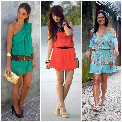 Vestidos Soltos 2012 – Tendências e Modelos
