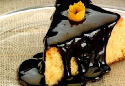 Bolo de Laranja com Cobertura de Chocolate, Saiba como Fazer