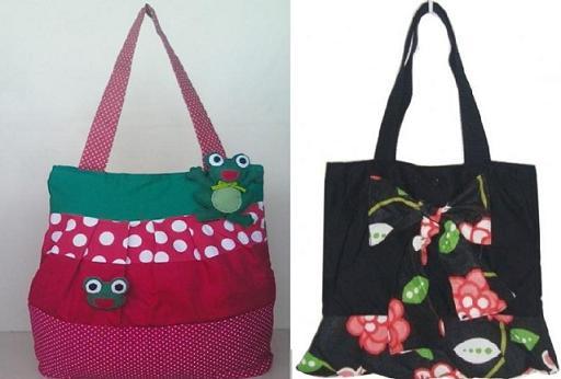 Bolsas Customizadas com Patchcolagem – Dicas e Fotos