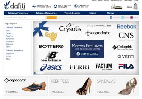 Calçados Online Dafiti – www.dafiti.com.br