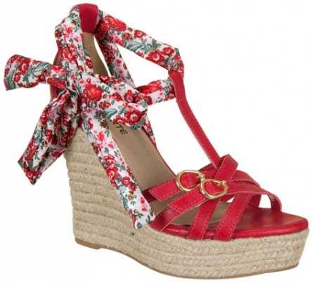 Calçados Anabela Coleção 2012