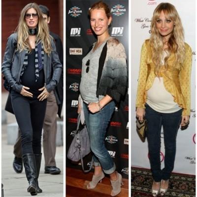 Calças para Gestantes – Moda 2012