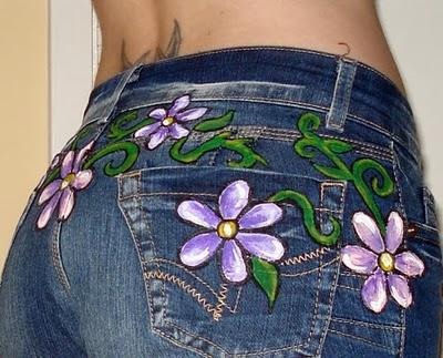 Calça Jeans Feminina Customizada: Fotos, Como Fazer