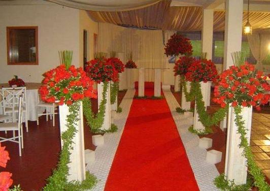 Decoração de Casamentos com Flores, Fotos e Dicas para Decorar