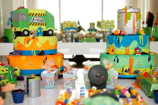 Decoração de Festa de Aniversário Tema Trash Pack: Modelos, Idéias, Sugestões
