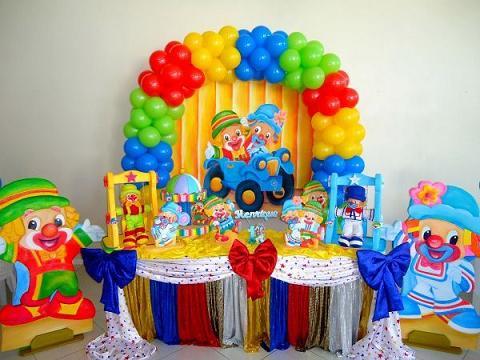 Decoração para Festas Infantis de 1 Ano – Fotos, Dicas