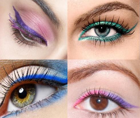 Delineador Colorido – Make para o Verão 2013