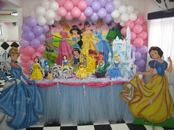 Festas das Princesas, Aniversários, Decoração e Acessórios de Festas
