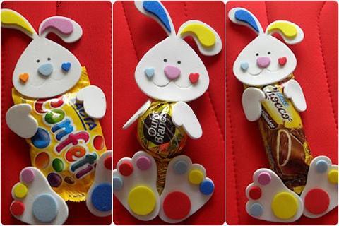 Lembrancinhas de Chocolate para Páscoa