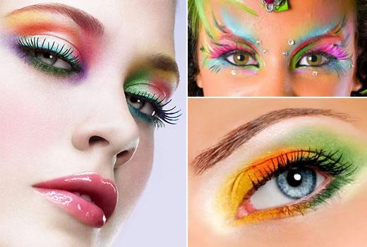 Maquiagem para o Carnaval 2012