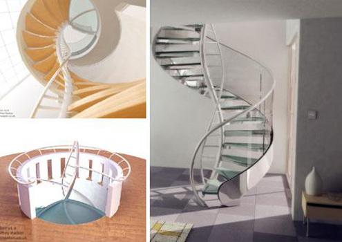 Modelos de Escadas Residenciais Criativas