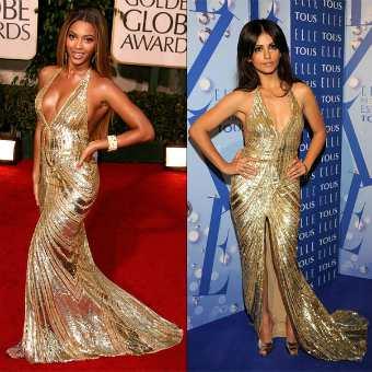 Modelos de Vestidos Dourados – Fotos