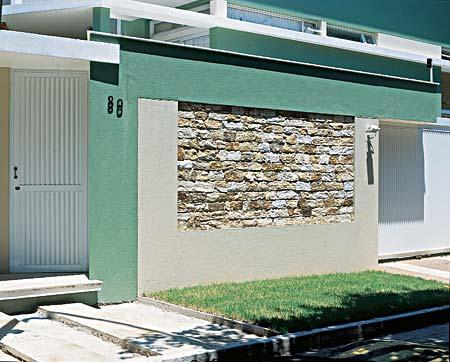 Muros e Fachadas de Casas Simples e Modernas – Fotos, Modelos