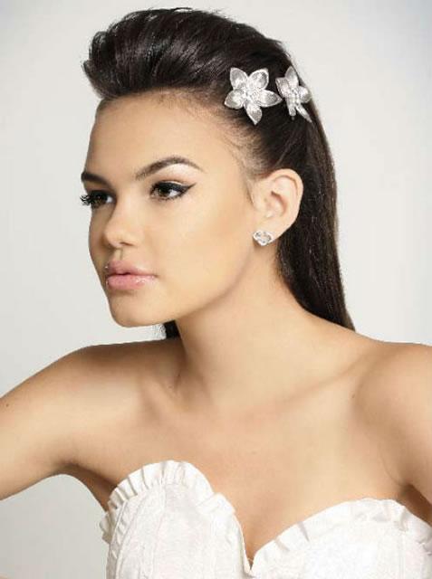 Penteados Moicanos Para Noivas Tendências 2014 – Modelos, Fotos