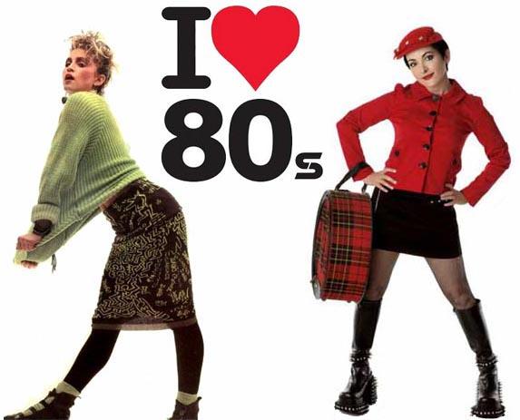 Roupas Femininas Anos 80