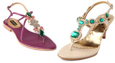Sandálias com Pedrarias, Fotos e Modelos