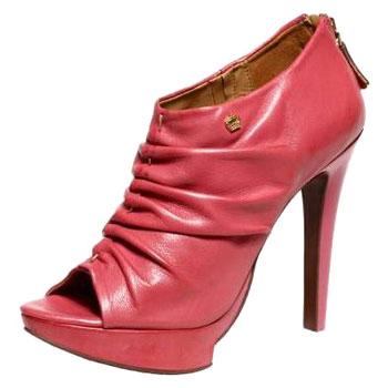 Sapatos Carmim 2012 – Dicas e Fotos