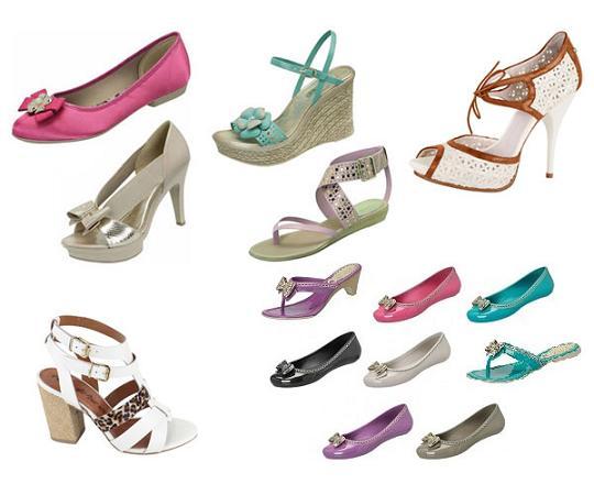 Sapatos e Sandálias Azaléia 2012 – Tendências e Fotos