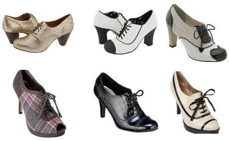 Sapatos Oxford 2013 – Tendências e Fotos