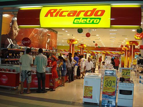 Site das Lojas Ricardo Eletro – www.ricardoeletro.com.br