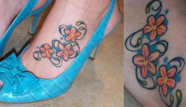Tatuagens Femininas nos Pés – Fotos e Modelos