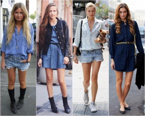 Tendência All Jeans: Fotos, Como Usar
