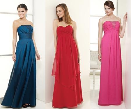 Vestidos para Madrinhas de Casamento 2012
